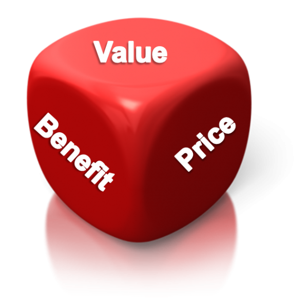 Product-Value-Price-Benefit